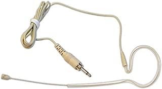 Weymic® Tan 3.5mm Screw Single Ear Hook for Wireless Headset Microphone System -stealth Skin Color Earhook