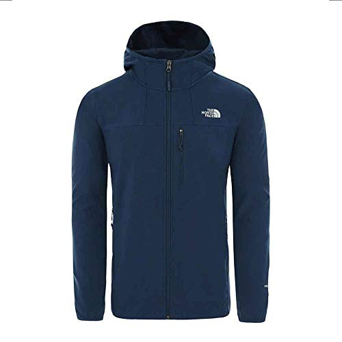 THE NORTH FACE Herren Nimble Hoody Jacke, Blue Wing Teal