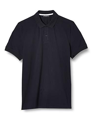 Maerz Herren Polohemd Poloshirt, Blau (Navy 399), Medium (Herstellergröße: 50)