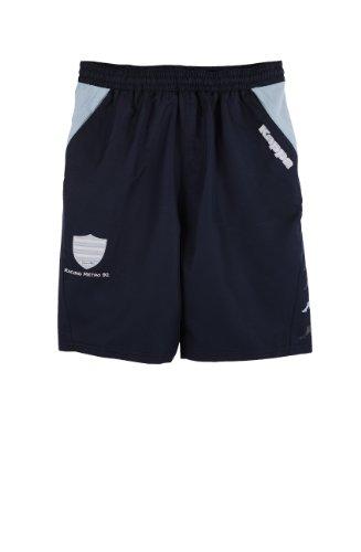 Racing Metro 92 Shorts Bermuda Offizielle Kollektion Kappa – Rugby Top 14 – Erwachsenengröße Herren, Blau - blau - Größe: 3XL