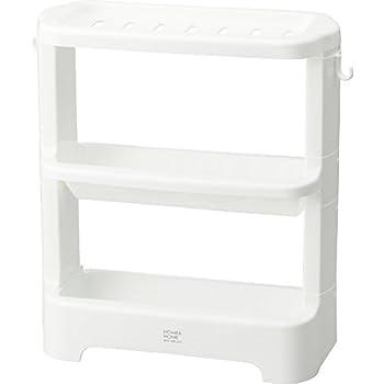 リス シャンプー ボトルラック ホワイト H&H 『防カビ加工』 日本製