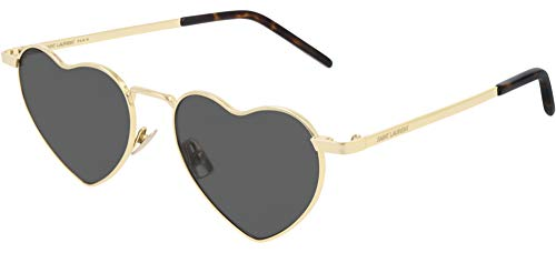 SAINT LAURENT Gafas de Sol SL 301 LOULOU GOLD/GREY 52/17/145 unisex