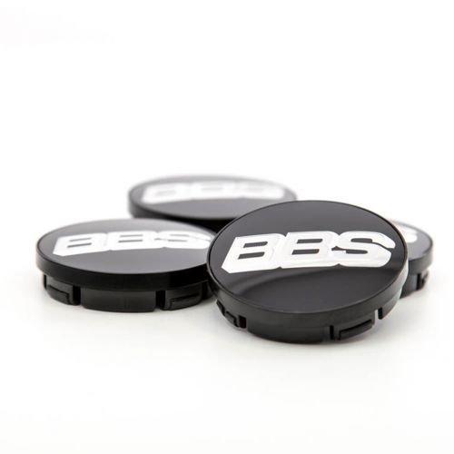BBS Symbolscheibe 1 Satz silber-schwarz 70,6mm Nabenabdeckung ohne Sprengring