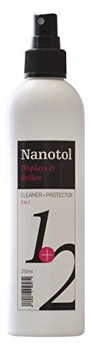 Nanotol Detergente per display/Screen Cleaner con effetto loto – Nano Spray per Smartphone, Tablet, Computer, Navi, TV, telefono – antipolvere con effetto a lungo termine
