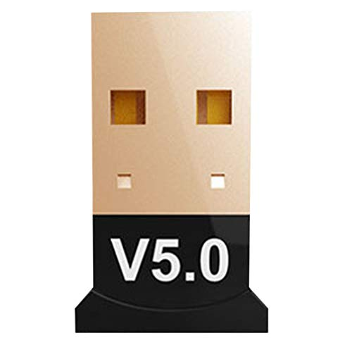 VILLCASE Adaptador USB Bluetooth 5. 0 Dongle Wireless Dongle Desktop Receptor Transmissor Bluetooth para Mouse Teclado Fones de Ouvido Alto-Falante Impressora