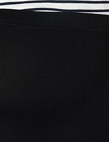 Bellinella BL1005, legging premamá Mujer, Negro (Schwarz), 36 (Talla del fabricante: Small)
