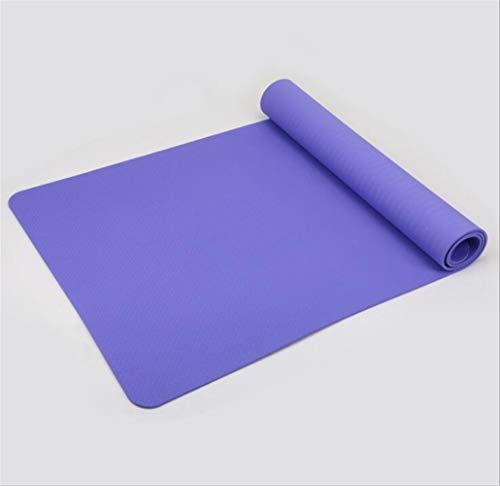 ZHANGFL Antiscivolo Yoga Mat, TPE Sport Yoga GymMat, Fitness Pilates Ginnastica Camping Colchonete Pad 183 * 61 * 6 (cm) (Color : 4)