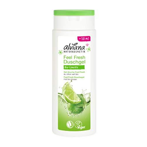 Alviana Feel Fresh Duschgel mit Bio-Limette, 250 ml
