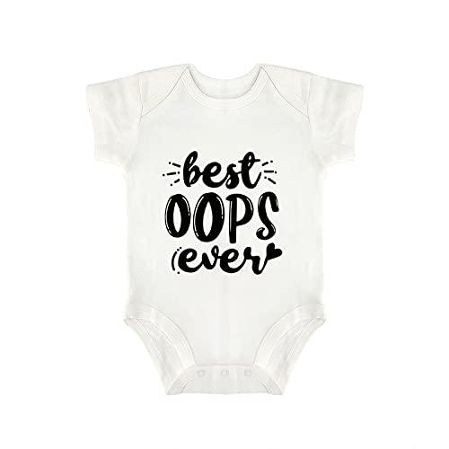 DKISEE Body de manga corta para bebé de 9 a 12 meses - Best Oops Ever - qo6sxmppucss-VSD