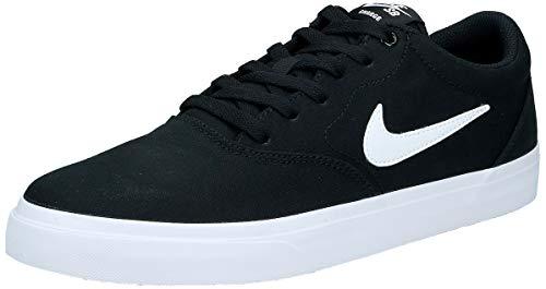 Nike Herren Sb Charge Solarsoft Skateboardschuhe, Schwarz (Black/White 002), 43 EU