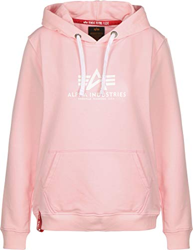 ALPHA INDUSTRIES New Basic Hoodie Pastel pink