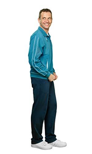 Michaelax-Fashion-Trade - Veste de Sport - Uni - Homme - Bleu - 50