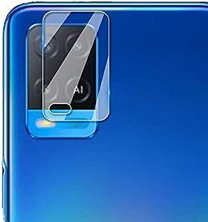 لاصقة حماية لعدسات الكاميرا مرنة من تقنية النانو ومضاد للصدمات لموبايل اوبو A54، شفافة
