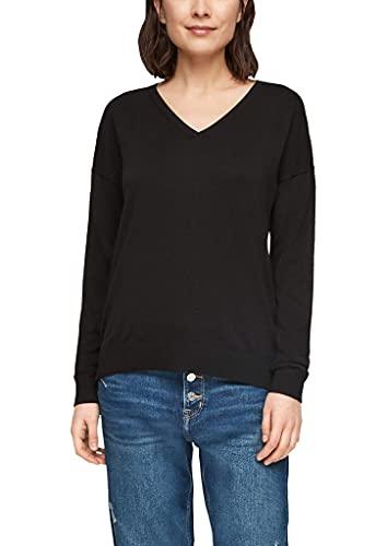 s.Oliver Damen Pullover Black 46
