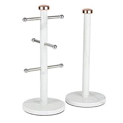 Tower Linear Towel Pole and Mug Tree Set by