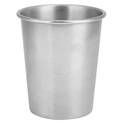 Taza de acero inoxidable de 2 piezas, taza de cerveza portátil de 230 ml, taza de jugo, leche, té, tazas, utensilios de cocina para exteriores, interiores, picnic, acampar