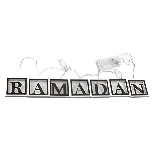lookthenbuy Islamitische hanglamp, lichtketting, lichtsnoer voor bruiloftsfeest, huistuin, slaapkamer, buiten en binnen, wanddecoraties