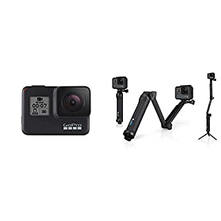 GoPro HERO7 Black con 3-Way Arm (B07L8Y56QQ) | Amazon price tracker / tracking, Amazon price history charts, Amazon price watches, Amazon price drop alerts