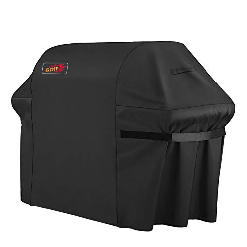 VicTsing Grill Cover, 72-Inch Waterproof BBQ Cover, 600D Heavy Duty Gas Grill Cover for weber,Brinkmann, Char Broil, Holland and Jenn Air(UV & Dust & Water Resistant, Weather Resistant, Rip Resistant) Covers Grill