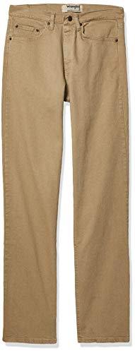 Wrangler Authentics Men's Classic Relaxed Fit Flex Jean Jeans, Denim Flessibile Sbiancato, 37W x 30L Uomo