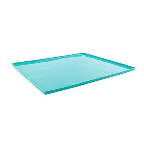 Lily cook KP5450 Plaque Genoise, Silicone, Vert Gris Rouge, 41 x 35 x 1 cm