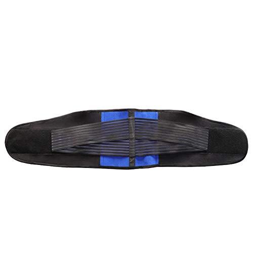 Nologo Rückenbandage Lendenwirbelstütze Rückenstützgürtel Mit Integrierte 4 Stahlstreifen Zur Schmerzlinderung Rückengurt Für Lindert Schmerzen (Size : 4XL)