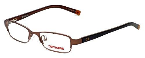 Converse Ligero y c¨modo para ni?os Designer Eyeglasses Energy en Lente marr¨n DEMO de 46 mm