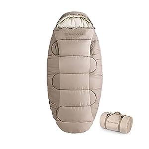 【NEW モデル】 Naturehike 正規店 1人用 寝袋 綿羽毛 手伸ばしできる シュラフ シュラフ保温 超軽量 丸洗い可能 収納袋付き ‐9℃~快適温度4℃