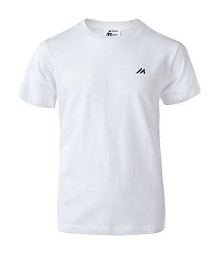 martes Jungen Brando JR T-Shirt, Bright White, 158