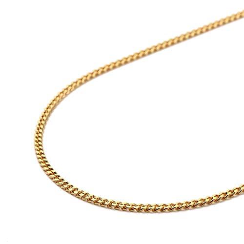 純金 喜平 ネックレス 2面 10g - 50cm 引輪 ゴールド メンズ レディース チェーン K24 造幣局検定マーク刻印入