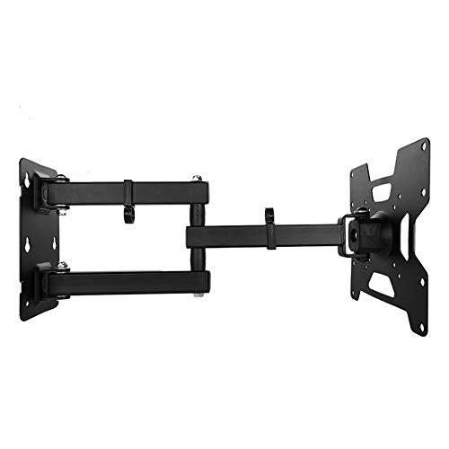 XCAYBH - Soporte de pared para TV con pantalla plana retráctil de plasma, soporte de pared ajustable para 200 x 200 mm (color: negro, tamaño: 32 50 pulgadas)