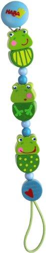 HABA 301115 - Schnullerkette Froschkonzert