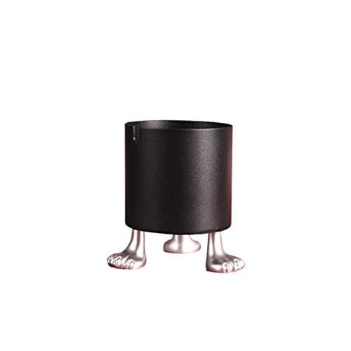 HJHJ Ceniceros Grandes Cenicero de Metal 7,5x10 Cm En 2.9x3.9, Fumadores Cenicero Rojo/Verde/Negro de Mesa Hermosa Decoración del Arte for Uso en Interiores o al Aire Libre ceniceros Baratos