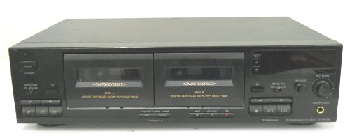 professional Sony TC-WR445 Car DC Reverse Dual Stereo Cassette Deck with High Density Servo Motor