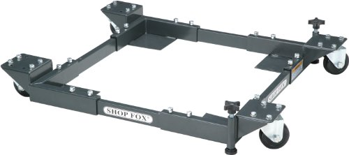 Shop Fox D2057A Adjustable Mobile Base, Small