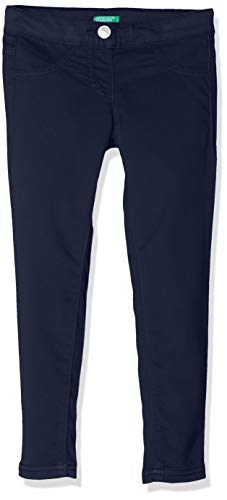 United Colors of Benetton Mädchen Jeggings Smerigliato Super Skinny Jeans, Blau (Blu 13c), 110 (Herstellergröße: X-Small)