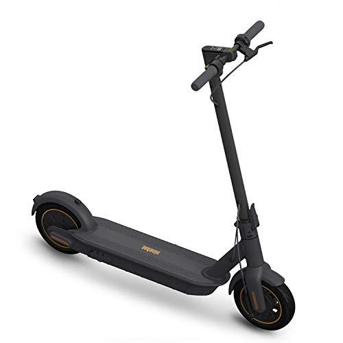 Segway Ninebot MAX Folding Electric Kick Scooter, Dark Grey