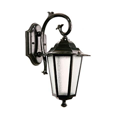 TXTC buitenwandlampen, Nordic outdoor patio tuinverlichting, vintage-wandlampen, waterdichte wandlantaarn voor thuis, porch, gedecoreerd tuin, binnenplaats