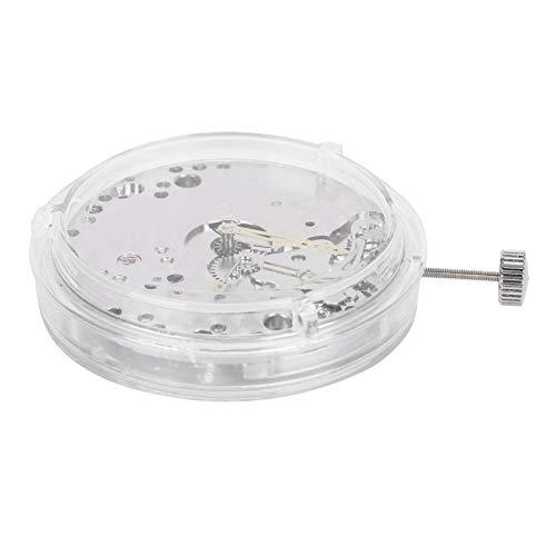 DAUERHAFT Mano de Obra Exquisita Movimiento de Reloj automático Material de Metal Movimiento de Reloj Movimiento de Reloj Pieza de Repuesto para talleres de reparación de Relojes Pieza de Repuesto