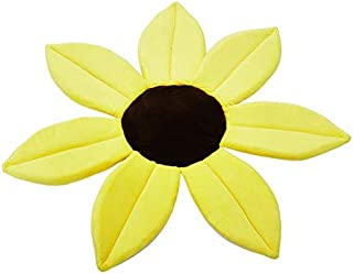Q Baby Play Mat, Sunflower Floor Mat Play Mat Baby, Thick Play Mat For Baby for Bedroom Living Room Games Room (Color : YE...