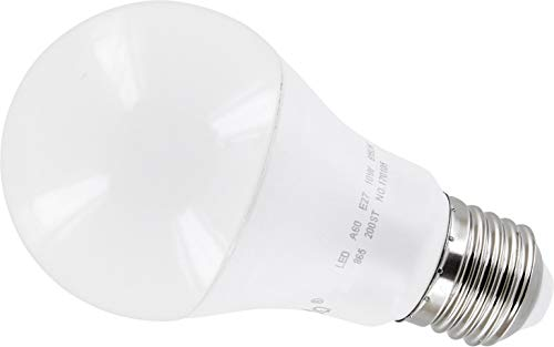 LED-lamp 10W E27 A60 mat 200° - 810lm - warm wit (3000 K) - flikkervrij IC-driver