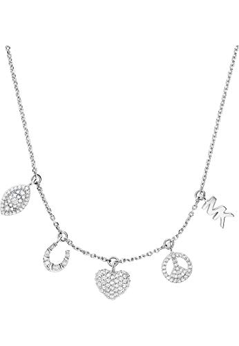 Michael Kors Damen-Kette 925er Silber One Size Silber 32013116