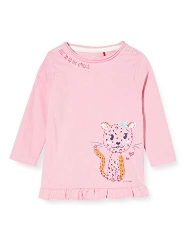 s.Oliver Junior Baby-Mädchen 405.10.008.12.130.2041243 T-Shirt, 4340, 92