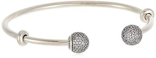 Pandora Offener Armreif mit Zirkonias Silber 19 cm