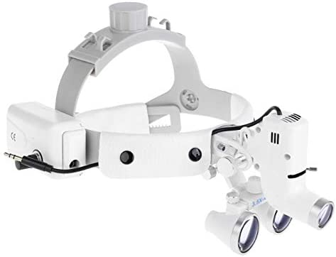 3.5X Dental Surgical Binocular low-pricing Magifier OFFicial shop Loupes 5W with Headl LED