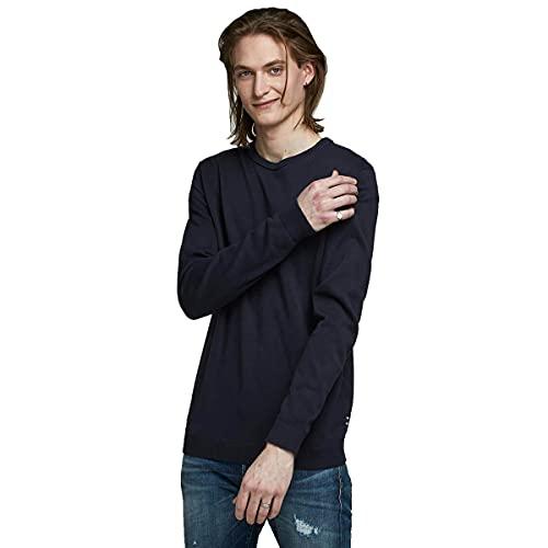 JACK & JONES Male Strickpullover Klassischer LNavy Blazer 1