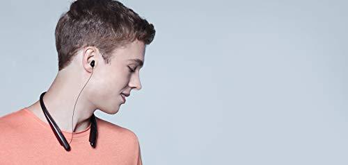 LG Tone HBS-SL6SB Wireless Kopfhörer (Externer Lautsprecher, Freisprecheinrichtung, hochwertiger Meridian Sound, Bluetooth 5.0, Schnellladung, Dual-Mikrofon, zum Fahren) schwarz