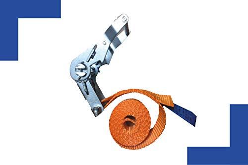 Sjorband 1-delig - Lengte: 2,5 m - Breedte 35 mm - Omsnoering - 2.000 kg - Made in Germany - EN 12195-2 eendelig spanband voor elke huishouding een must