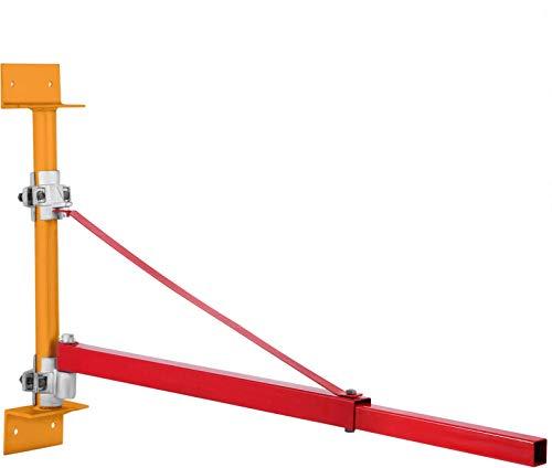 OI Brazo de soporte de polipasto, 600/300 kg de soporte de polipasto eléctrico de soporte de polipasto eléctrico brazo de elevación de brazo de elevación eléctrico giratorio brazo de elevación