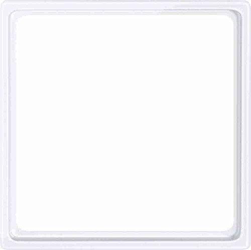 Merten 518525 Zwischenring für Kombieinsätze nach DIN 49075, aktivweiß glänzend, System M, Weiß